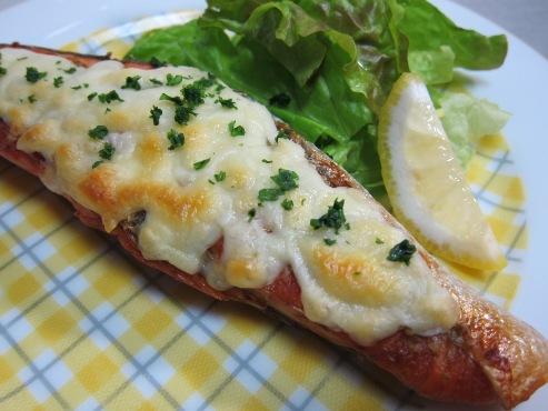 塩鮭の柚子胡椒チーズ焼き(B)