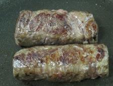 アスパラの牛肉巻き フライパン①