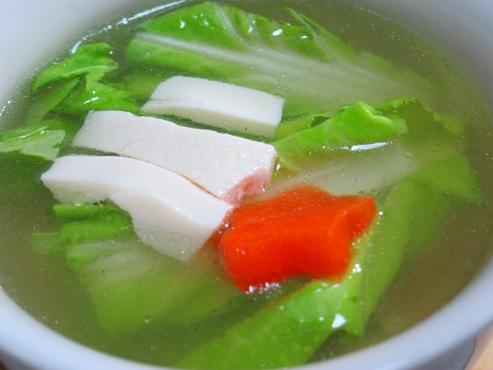 白菜と豆腐のスープ(B)