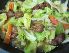 春キャベツの八宝菜 フライパン④