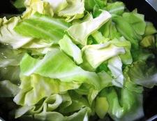 春キャベツの八宝菜 キャベツボイル