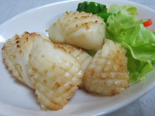 イカの醤油バターソテー(B)