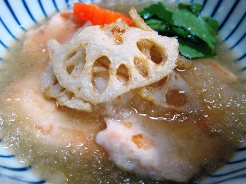 鶏胸肉のおろし煮大①