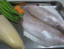 鯛と筍の煮物 材料