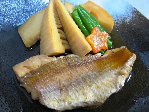鯛と筍の煮物大