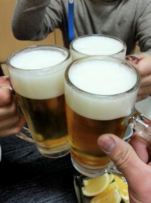 福やす乾杯
