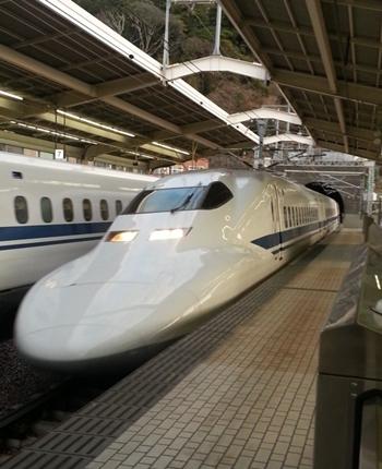 新幹線でゴー