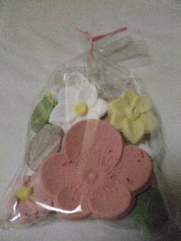 春の干菓子