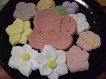 春の干菓子2