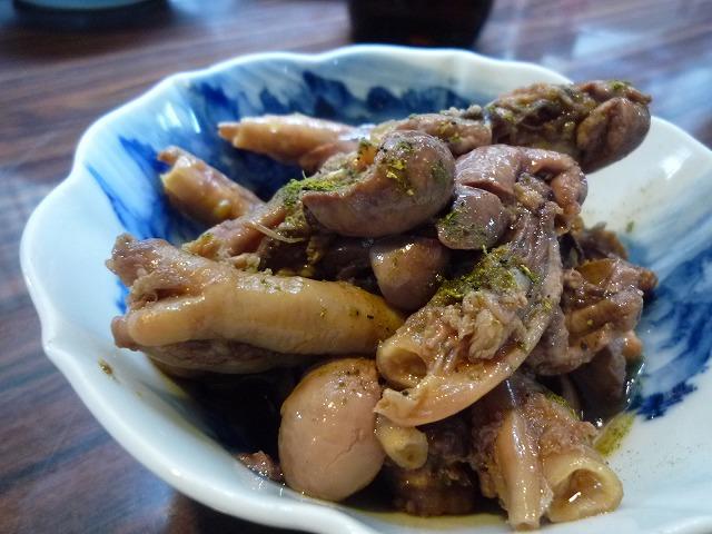 穴子の肝煮(藤原)