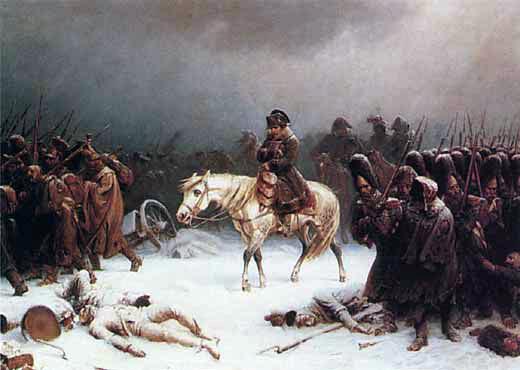 ナポレオンロシア大敗