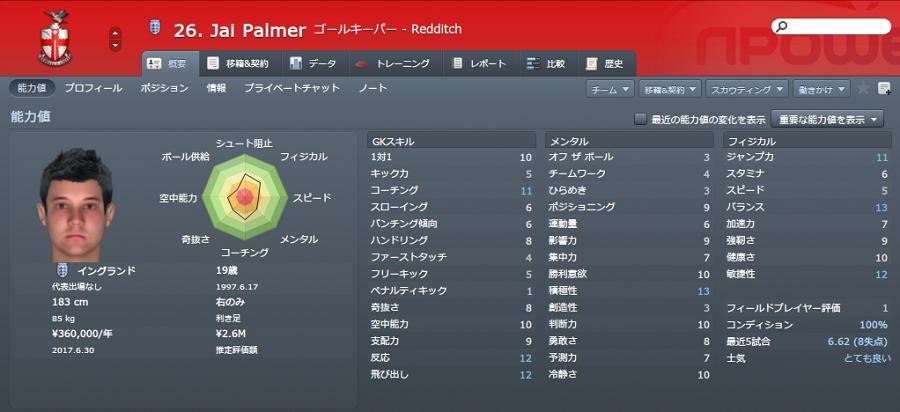 2016-17 Palmer