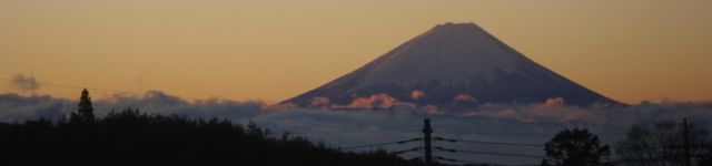 1127のあさ・富士山
