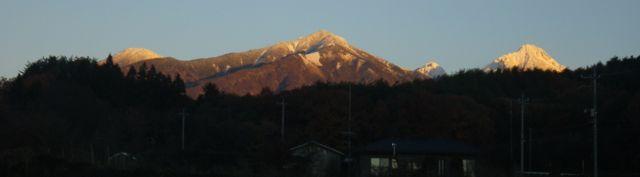 1127のあさ・八ヶ岳