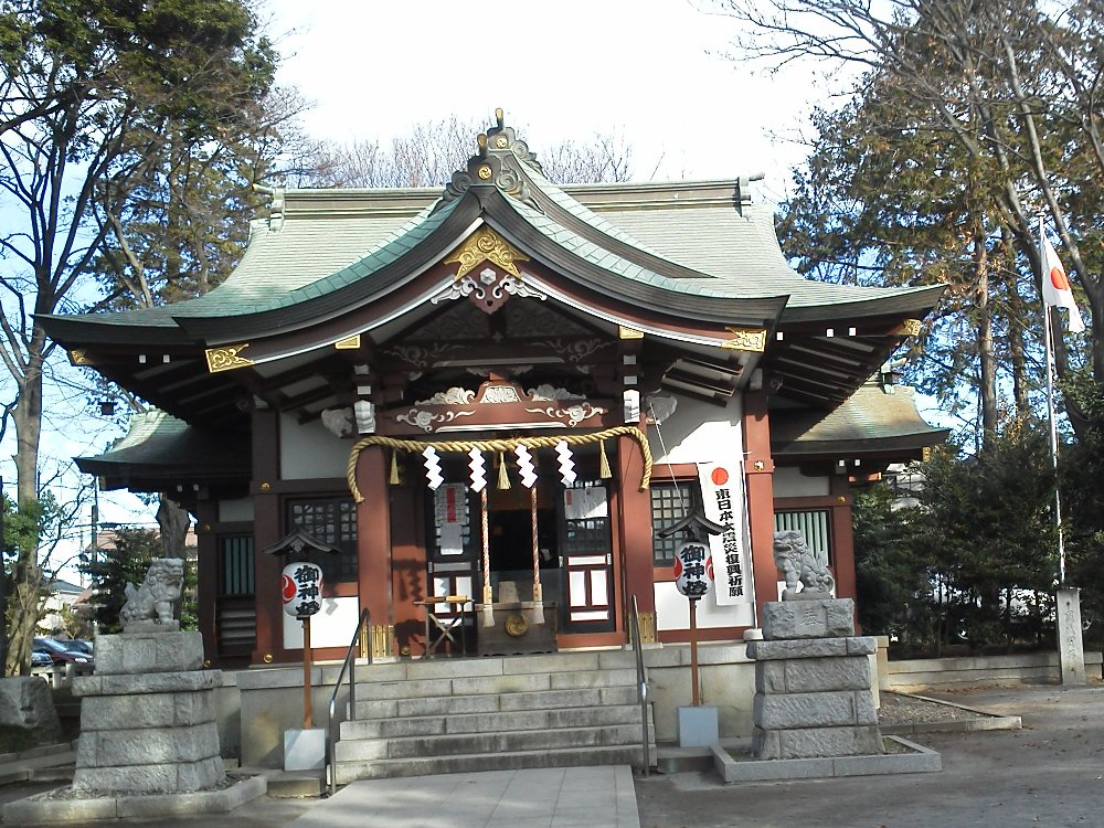 F1000392大泉の氷川神社