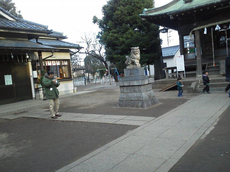 F1000405野火止の氷川神社