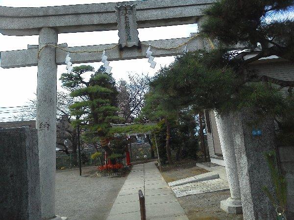 F1000458下赤塚 出世稲荷神社