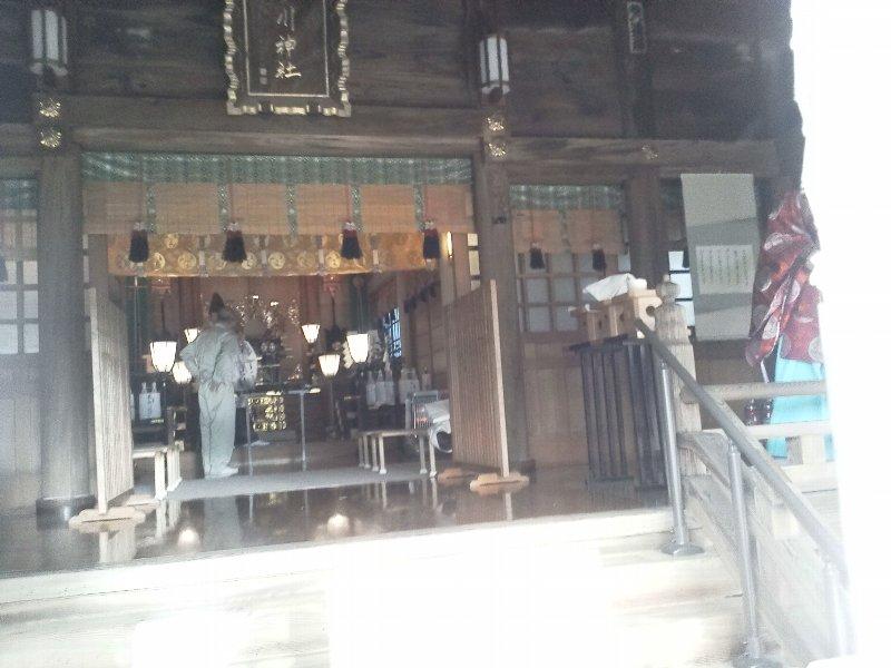 F1000468上板橋の氷川神社の内陣