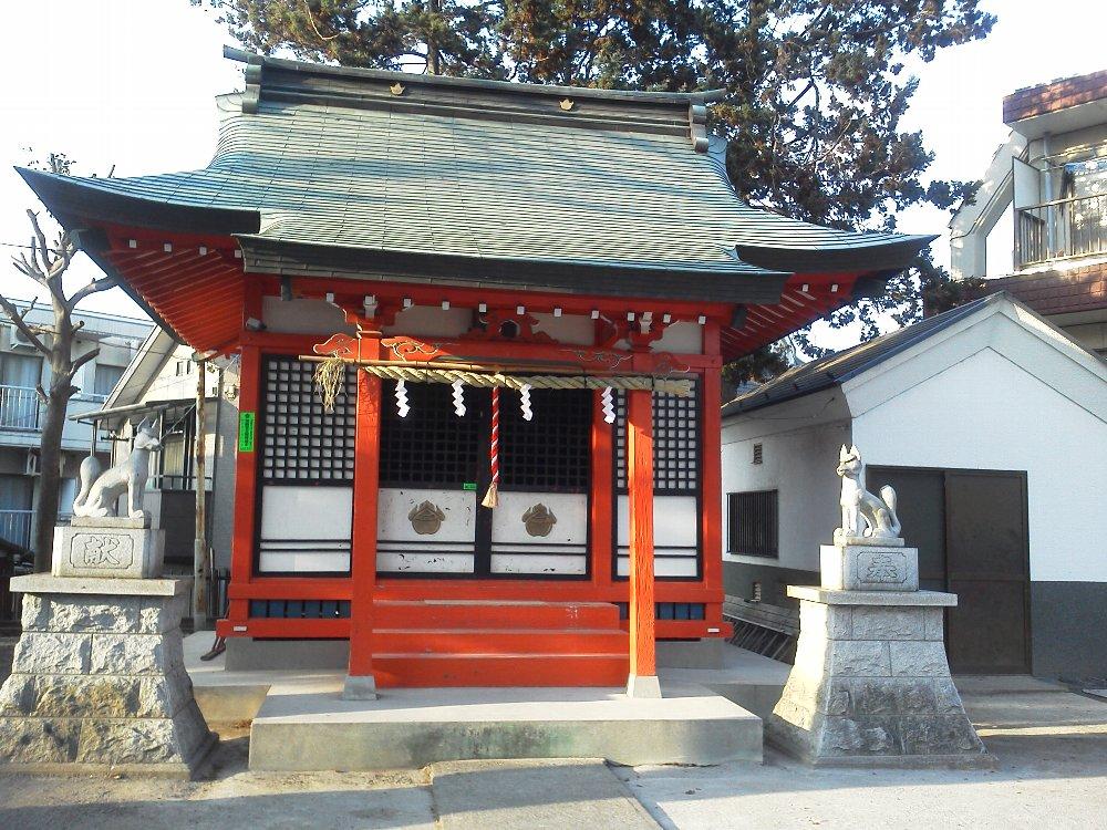 F1000476赤塚の篠塚稲荷神社