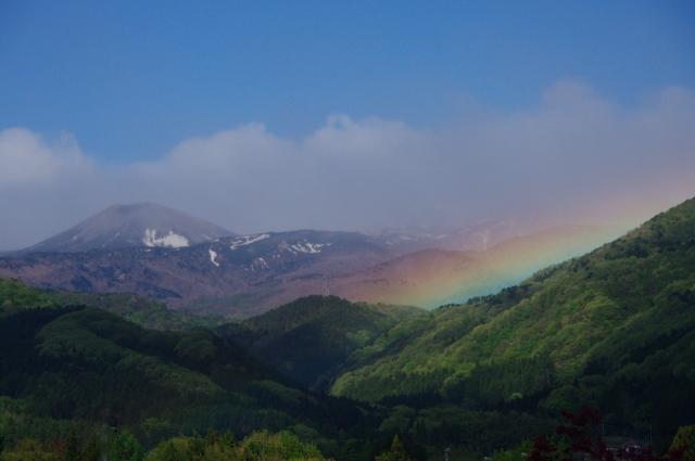 虹色的雪兎