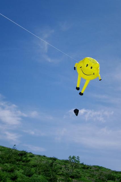 空飛ぶスマイリー
