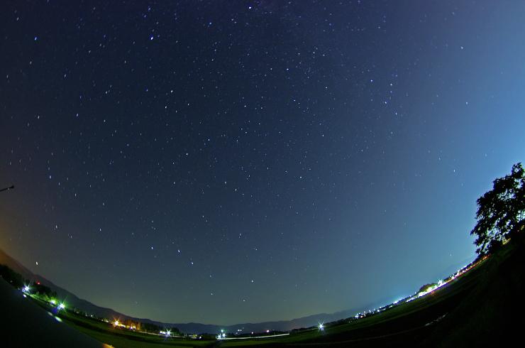ふくしまの広い星空