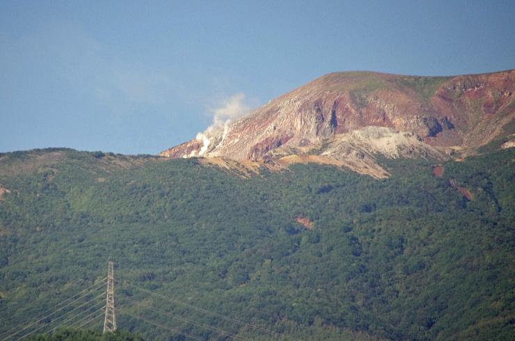H24.09.26 今朝の噴気