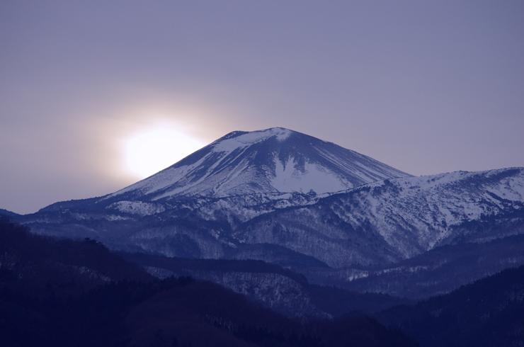 日没の小富士