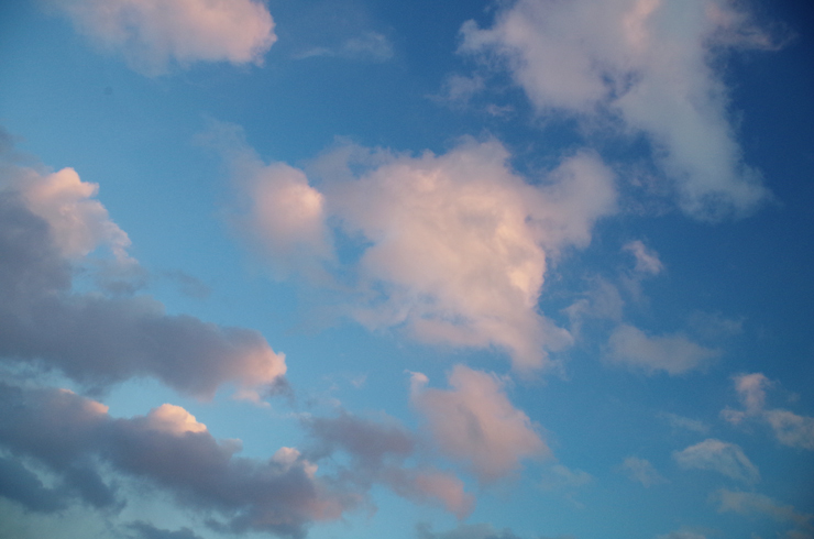土曜日の空