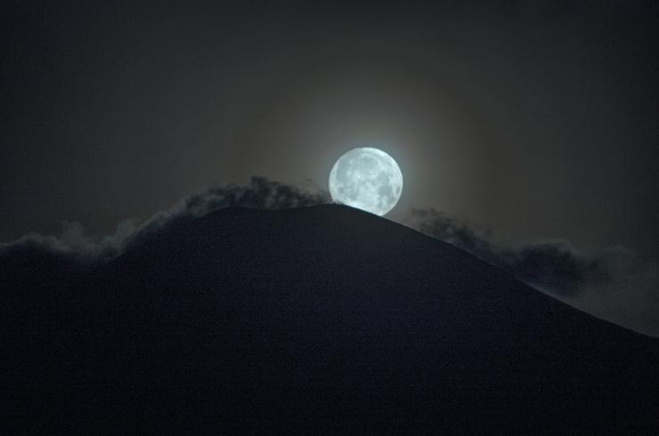 月没吾妻小富士