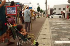 四万十デモ2012年7月14日