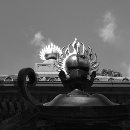 足摺寺の屋根