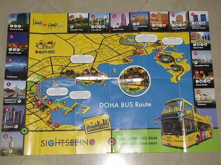 ドーハバス循環マップ