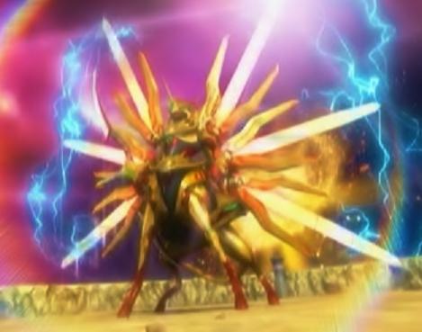 光龍騎神サジット・アポロドラゴン CG