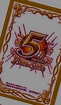 5thアニバーサリースリーブ