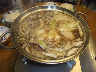 鶏とキノコの鍋