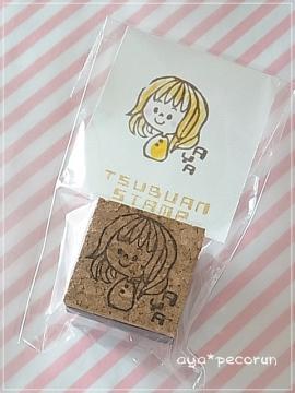 TSUBUANさんの似顔絵はんこ