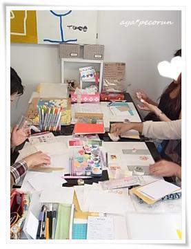 消しゴムはんこレッスン in SODA GUM 2012.9.29 レポ①