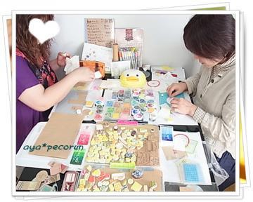 消しゴムはんこレッスンinSODAGUM 2012.11.15 PM ①
