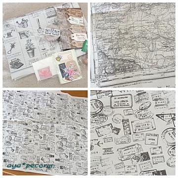 keco*さんからのステキ便 新聞ペーパー