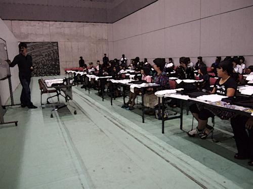 2012読売展親子教室
