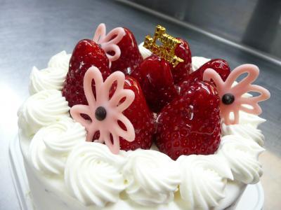 イチゴdeバースデーケーキ