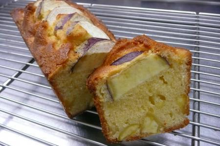 お芋さんのパウンドケーキ
