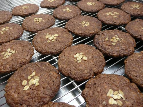 オートミールチョコクッキー①
