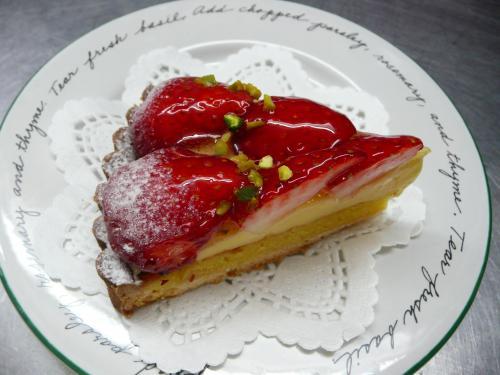 苺のタルト(カスタードバージョン)