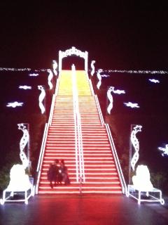 イルミ階段