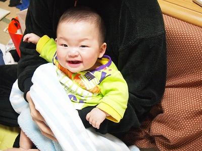 笑顔全開!!