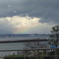 2琵琶湖の虹