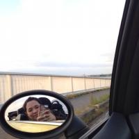 2琵琶湖ドライブでワイプ芸