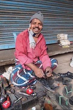 靴を直してくれる人